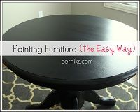 Excellent advice on painting furniture. Will probably come in handy when I start getting at the bedroom furniture in particular.