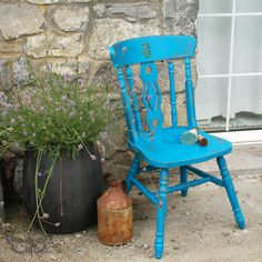 Finnabair: New Life of an Old Chair - Simple Furniture Makeov...
