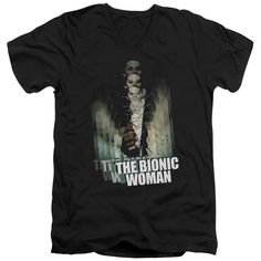 """Checkout our #LicensedGear products FREE SHIPPING + 10% OFF Coupon Code """"Official"""" Bionic Woman / Motion Blur - Short Sleeve Adult V-neck 30 / 1 - Bionic Woman / Motion Blur - Short Sleeve Adult V-neck 30 / 1 - Price: $34.99. Buy now at https://officiallylicensedgear.com/bionic-woman-motion-blur-short-sleeve-adult-v-neck-30-1"""