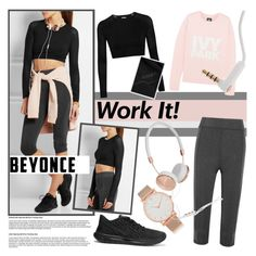 """Slay All Day: Style Beyonce's Ivy Park!"" by martso ❤ liked on Polyvore featuring NIKE, Ivy Park, Frends and Larsson & Jennings"
