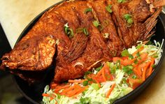 FISH GRILL Would very much recommend the salmon fillet with fries and coleslaw!!! Great fresh fish.... 7226 Beverly Blvd.  Los Angeles CA United States 90036