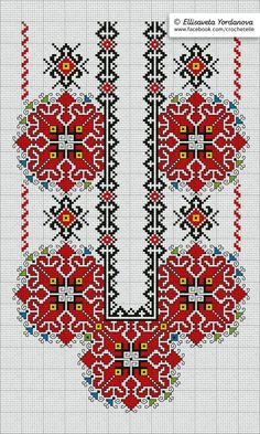 Cross Stitch Pillow, Cross Stitch Art, Cross Stitching, Cross Stitch Patterns, Blackwork Embroidery, Folk Embroidery, Cross Stitch Embroidery, Embroidery Neck Designs, Embroidery Patterns