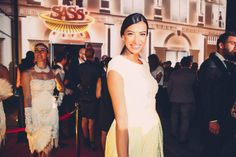 Shereen Mitwalli attends the grand opening of Sass Cafe Dubai.