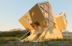 Проект украинского архитектора Константина Кувики.