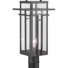The Boxwood Outdoor Light by Progress Lighting features geometric details in Boxwood's design enhance Craftsman-inspired architecture. The one-light post lantern features clear seeded glass and finished in Architectural Bronze which completes the authentic style. Visit PatioProductsUSA.com to purchase now! #outdoorlighting #porchlighting #patiolighting Outdoor Post Lights, Outdoor Lighting, Pathway Lighting, Lantern Post, How To Make Lanterns, Progress Lighting, Transitional Wall Sconces, Outdoor Light Fixtures, Cool Floor Lamps