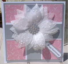 Floral Anniversary by craftiepants - Cards and Paper Crafts at Splitcoaststampers
