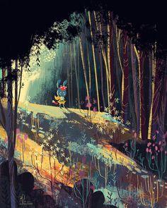 Digital Illustrations - Zoe Persico Illustration stillness