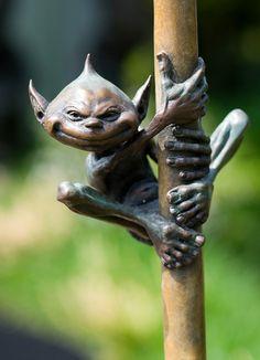 David Goode bronze sculpture at Chelsea 2012
