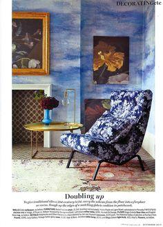 Designers Guild Cielo wallpaper as seen in Living etc, UK ♥✫✫❤️ *•. ❁.•*❥●♆● ❁ ڿڰۣ❁ La-la-la Bonne vie ♡❃∘✤ ॐ♥⭐▾๑ ♡༺✿ ♡·✳︎·❀‿ ❀♥❃ ~*~ MON May 16th, 2016 ✨ ✤ॐ ✧⚜✧ ❦♥⭐♢∘❃♦♡❊ ~*~ Have a Nice Day ❊ღ༺ ✿♡♥♫~*~ ♪ ♥❁●♆●✫✫ ஜℓvஜ