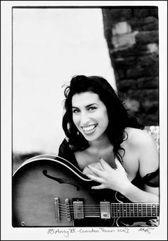 Amy Winehouse (1983-2011) - English singer-songwriter known for her deep contralto vocals and her eclectic mix of musical genres. Photo © Alexis Maryon, 2003