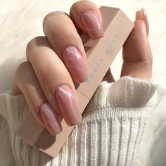 Glamour Queen Natural Acrylic Nails, Long Acrylic Nails, Cute Acrylic Nail Designs, Beautiful Nail Designs, French Nails, Love Nails, Pretty Nails, Nailart, Nail Time