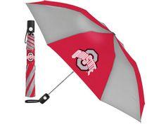 Ohio State Buckeyes Mcarthur Automatic Folding Umbrella
