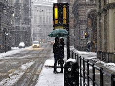 Snow Kiss, London, England