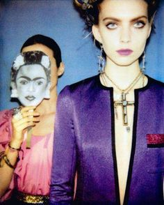 Fashion Editorial inspired by Frida Kahlo