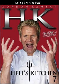 Hell's Kitchen | Hell's Kitchen DVD news: Box Art for Season 7: Raw & Uncensored ...