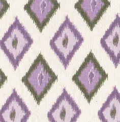 Diamond Ikat, Purple