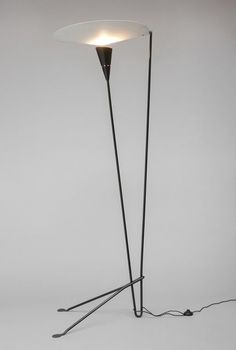 Michel Buffet . floor lamp, 1950-51