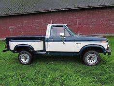 No Reserve 1981 Short Bed Stepside Flareside Xlt Ranger No Rust Ranger 4x4, Ford Ranger, Ford 4x4, Ford Pickup Trucks, Trucks Only, Cool Trucks, Medium Duty Trucks, Chevy Stepside, F150 Truck