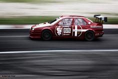 Alfa Romeo 155 ZE, V6 3.0 in Riga Summer Race 2013.