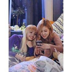 Rose and Lisa blackpink Kpop Girl Groups, Korean Girl Groups, Kpop Girls, Jennie Blackpink, Blackpink Lisa, Yg Entertainment, K Pop, Foto Rose, Divas