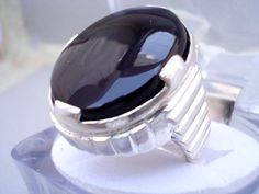 0462c5913aa3d 11 Best Men Silver Gemstone Rings images in 2018 | Gemstone Rings ...