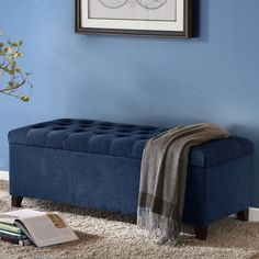 Madison Park Shandra Tufted Storage Ottoman  $229.49