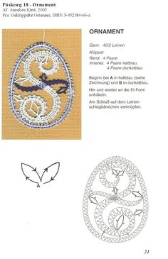 ANNELIES - ana sarceda - Picasa Web Albums Lace Art, Bobbin Lace Patterns, Easter Crochet, Needle Lace, Tatting, Diy And Crafts, Creations, Album, Embroidery