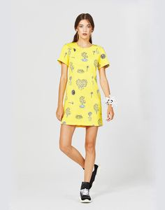 Short Sleeve Dresses, Dresses With Sleeves, Shirt Dress, T Shirt, Summer Dresses, Female, Outfits, Shopping, Collections