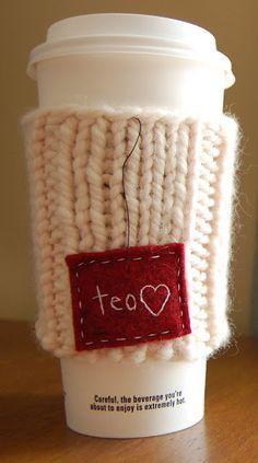 Tea cosy - Starbucks chai tea, second only to English black tea!