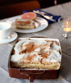 Apple & Cinnamon Whole Grain Breakfast Strata
