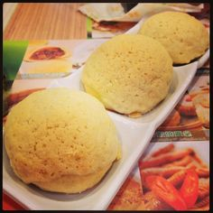 Tim Ho Wan 添好運 Michelin* dim sum restaurant.