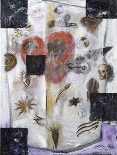 Codex (2012) : oil on canvas / huile sur toile / olio su tela, 60x45cm ©RobertoMangú #oil #painting #art #Mangu
