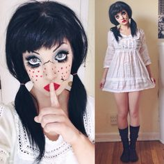 spooky doll costume - Google Search