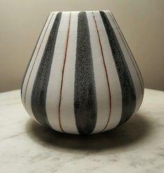 Mid Century 1960's German Marschner Kunsttöpferei Retro Art Pottery Ceramic Vase