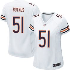 Nike Chicago Bears Dick Butkus Limited Jersey Women White  51 NFL Jerseys  Sale Seahawks Bobby Wagner jersey 87736330300