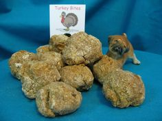Turkey Bites - so your dog can have give Thanks all year round    Available at www.nimahsnibbles.com