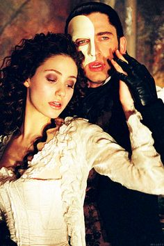 Phantom of the Opera(2004) -- Love this film so much especially Gerald Butler as the Opera Phantom ~ Wow!!! He really surprised me with his awesome singing voice.