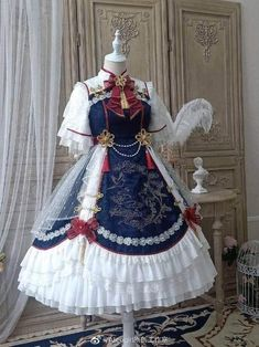 Fashion Tips Plus Size Tips Plus Size Pretty Outfits, Pretty Dresses, Beautiful Outfits, Kawaii Dress, Kawaii Clothes, Cosplay Dress, Cosplay Outfits, Old Fashion Dresses, Fashion Outfits