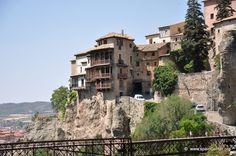 Las Casas Colgadas, Cuenca, España.