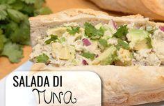 Lekker snel, makkelijk en goedkoop… maar oh zo lekker: een broodje met deze heerlijke tonijnsalade! Je maakt hem in tien minuten, maar hij smaakt alsof je er een hele dag voor hebt staan koke…