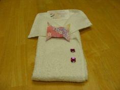 towel folding art -