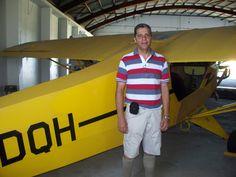 Matando saudade da garça. Aeroclube de Santa Maria - Rs