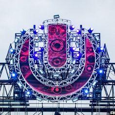 umfj14a 050 Ferris Wheel, Stage, Fair Grounds, Design