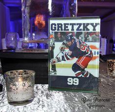 Joshua's New York Ranger Ice Hockey Theme Bar Mitzvah Party Signs