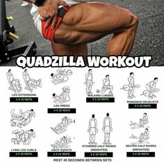 Quadzilla Workout - Healthy Fitness Leg Training Plan