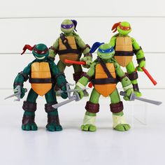 TMNT teenage mutant ninja turtles Figure Toy Can be moving pvc toy doll model 4 inch Retail Free Shipping | Price: US $11.55 | http://www.bestali.com/goto/32326731602/10