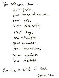 Sherri Cassara Designs: Remember who you are