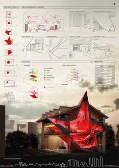 MAHOU Cultural Center (beer brand) | Manuel Caicoya & Josephe Thorne | Archinect