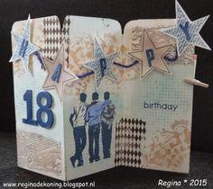 Artjourney stamps. Happy Birthday Artjourney challenge