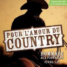 Pour l'amour du country - Artistes variés - Nombre de titres : 10 titres -  Référence : 25597 #CD #Musique #Cadeau